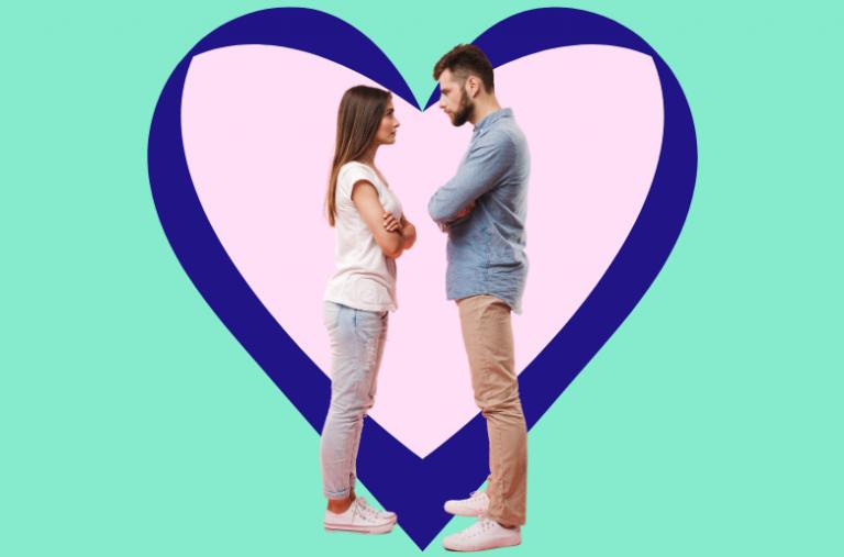 couple in heart