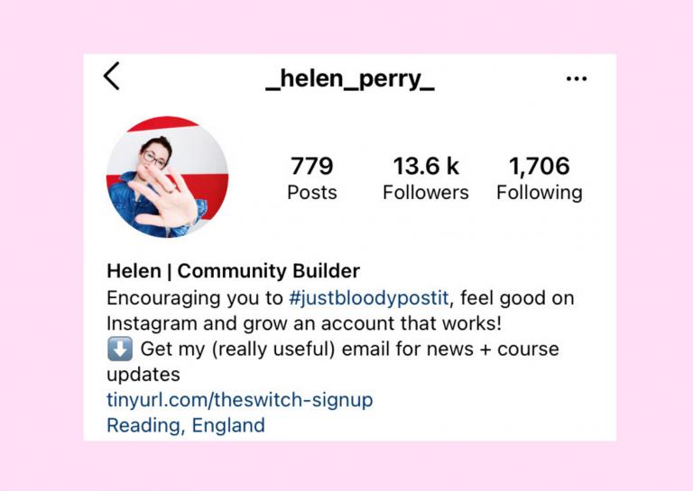Helen Perry on Instagram