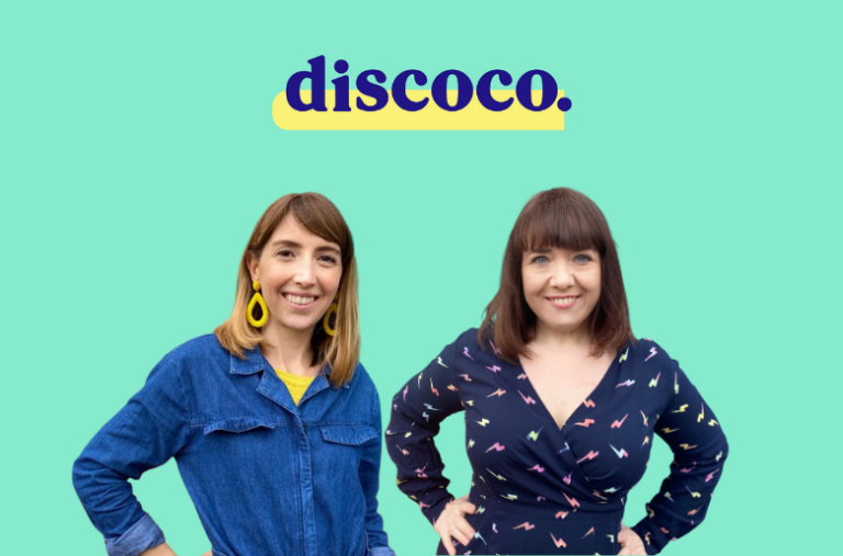 Discoco's Lucy Cleveley and Isabel Mohan