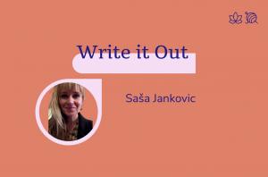 Write it out, Saša Jankovic